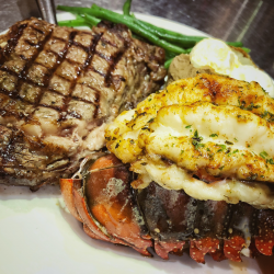 Ribeye // Lobster Combo
